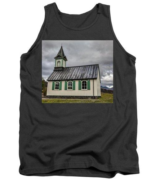 Tiny Church Of Iceland Tank Top