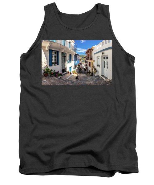 Town Of Skopelos Tank Top
