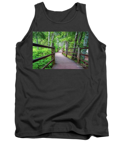 Trail At Gooseberry Falls Tank Top