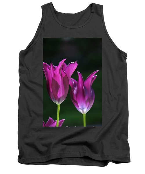 Translucent Tulips Tank Top