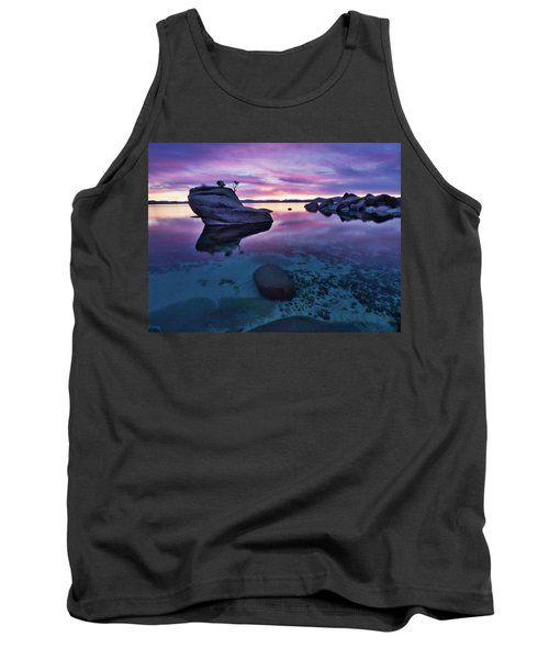Transparent Sunset Tank Top