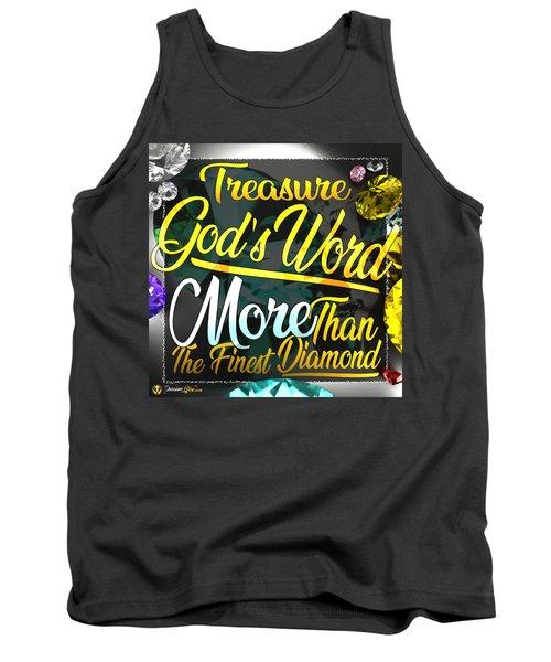 Treasure God's Word Tank Top