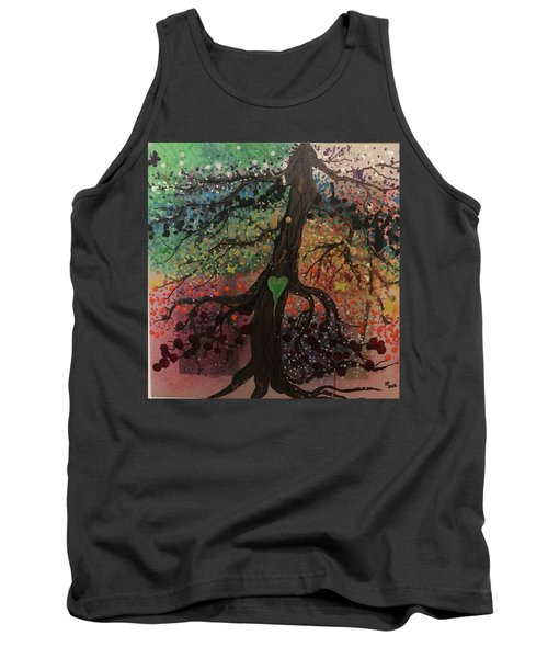 Tree Of Life Chakra Tree Tank Top
