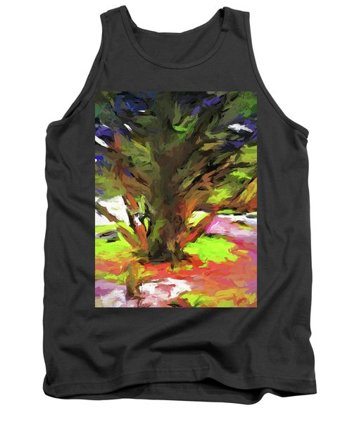 Tree With The Open Arms Tank Top