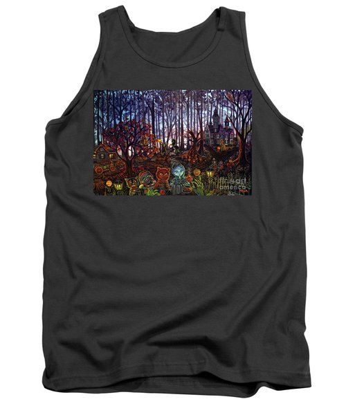 Trick Or Treat Sleepy Hollow Tank Top