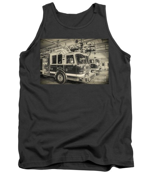 Truck And Engine 211 Tank Top