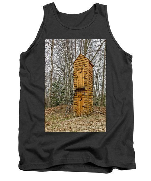 Two-story Outhouse For Voters And Politicians Tank Top