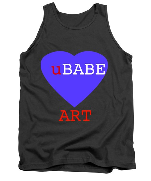 uBABE Blue Love Tank Top