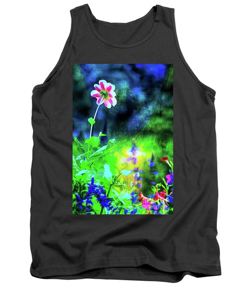 Underwater Garden Abstract Tank Top