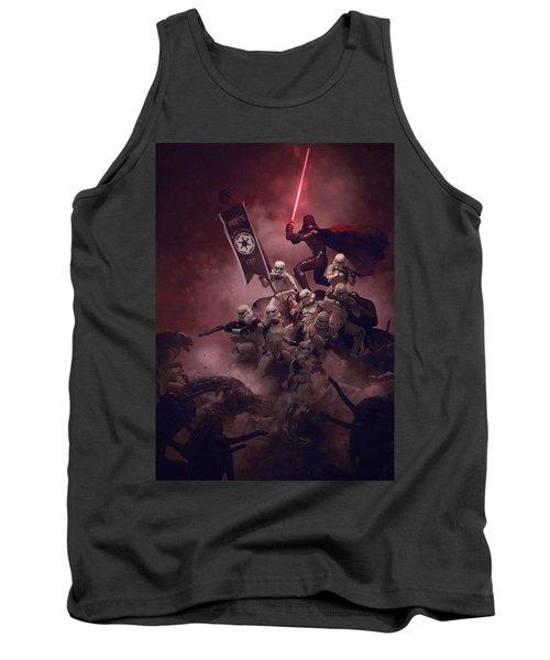 Vader Vs Aliens 2 Tank Top