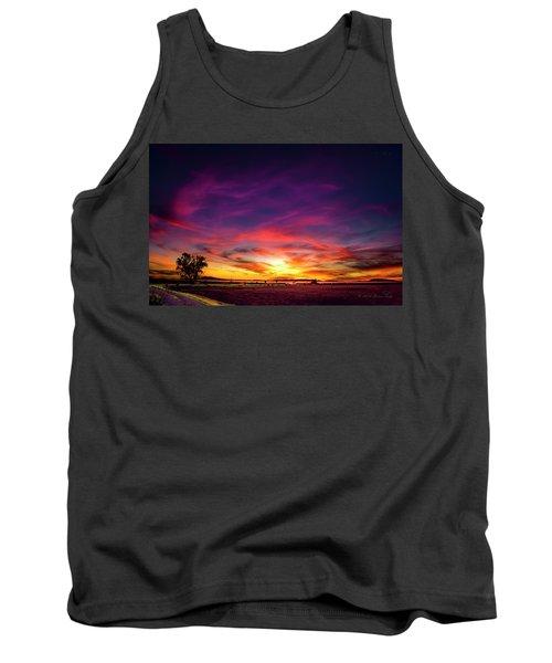 Valentine Sunset Tank Top