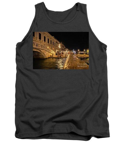 Venice At Night. San Marco Tank Top