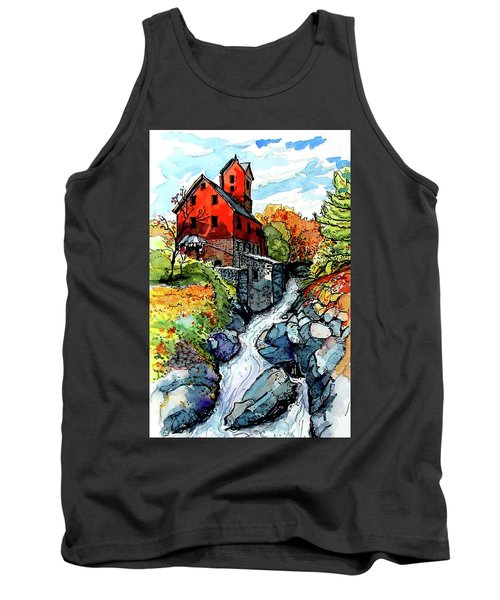 Vermont Red Tank Top