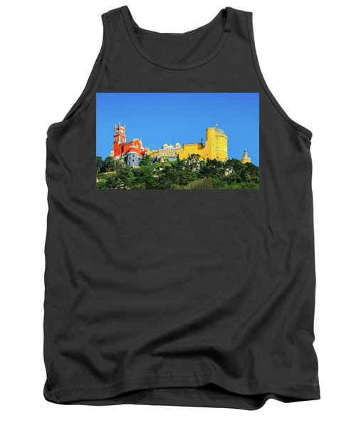 View Of Pena National Palace, Sintra, Portugal, Europe Tank Top