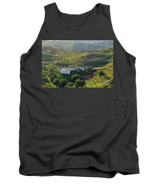 Village Hidden In The Mountains Tank Top