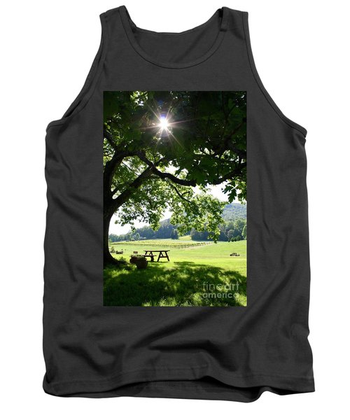 Vineyard In Georgia Tank Top