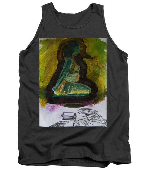 Waiting For Death Tank Top
