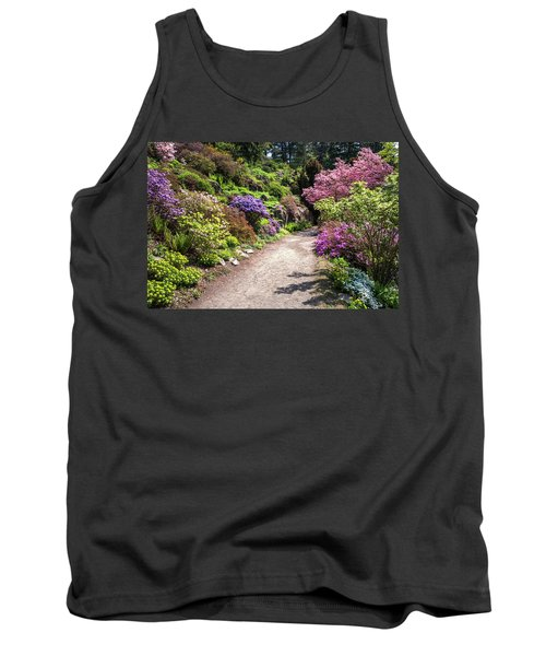 Walk In Spring Eden. Colorful Path 2 Tank Top