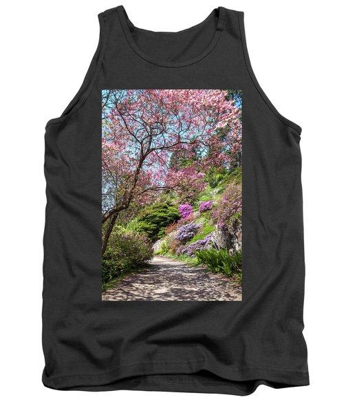 Walk In Spring Eden. Heavenly Blooms 2 Tank Top
