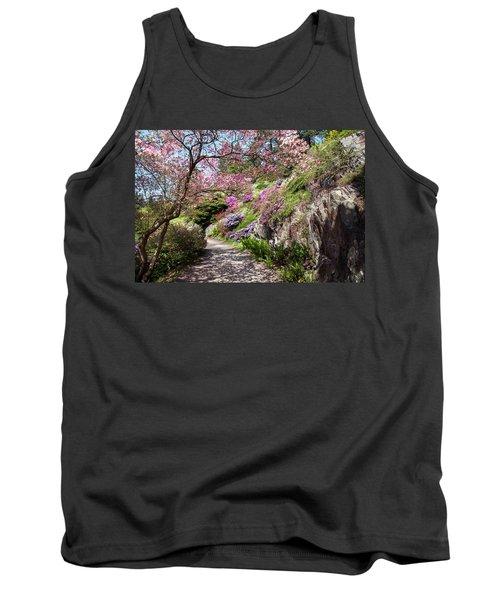 Walk In Spring Eden. Heavenly Blooms Tank Top