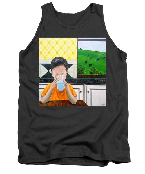 Tank Top featuring the painting We Are Starstuff by Kevin Daly