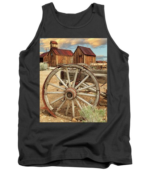 Wheels And Spokes In Color Tank Top