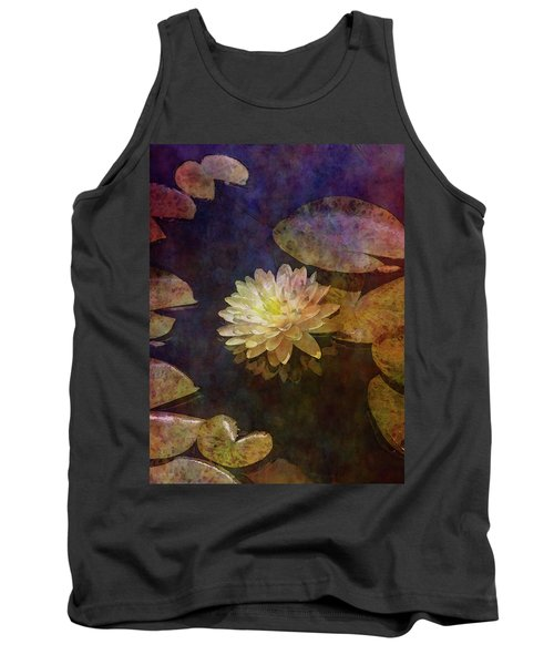 White Lotus Lily Pond 2938 Idp_2 Tank Top