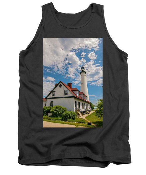 Wind Point Lighthouse No. 2 Tank Top