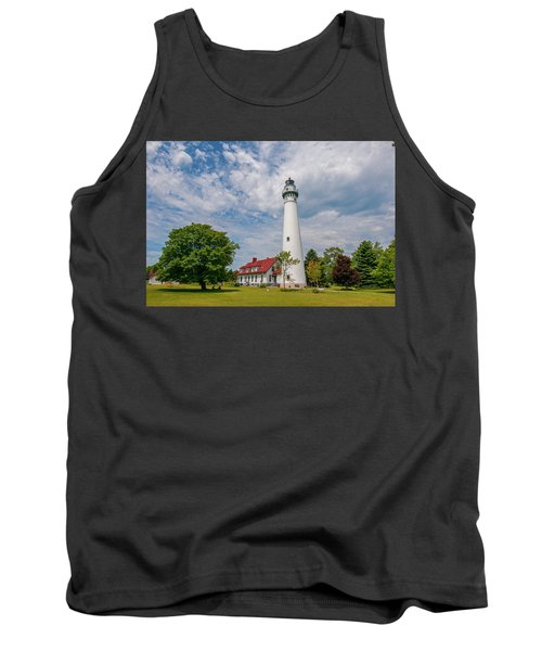 Wind Point Lighthouse No 3 Tank Top
