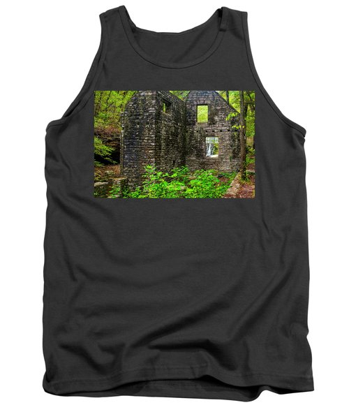 Tank Top featuring the photograph Window To The Waterfall by Andy Crawford