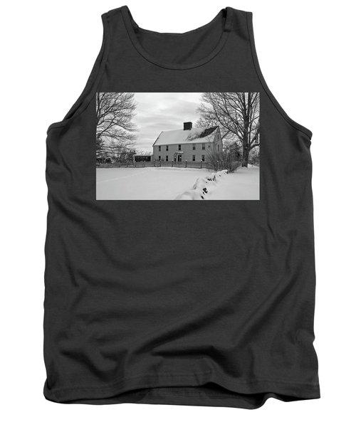 Winter At Noyes House Tank Top