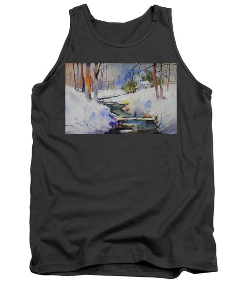 Winter Wilderness Tank Top