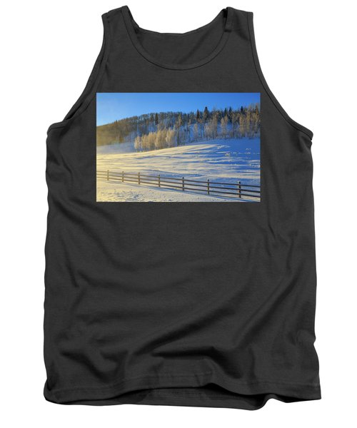 Wintertide On The Divide  Tank Top