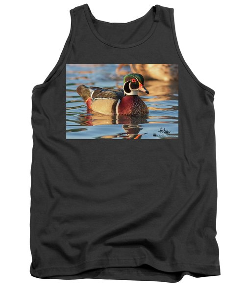 Wood Duck 4 Tank Top
