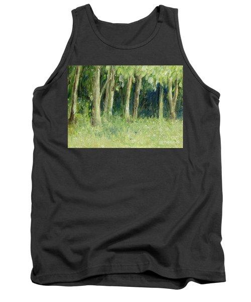 Woodland Tree Line Tank Top