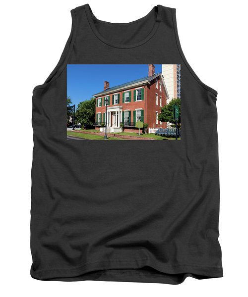 Woodrow Wilson Boyhood Home - Augusta Ga 3 Tank Top