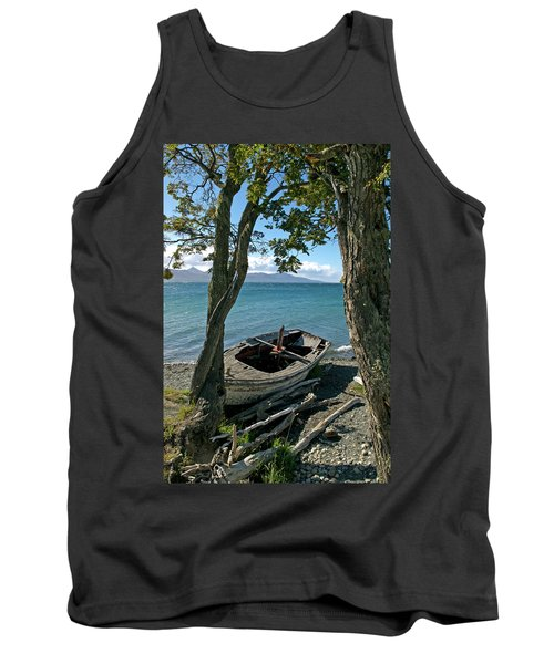 Wrecked Boat Patagonia Tank Top