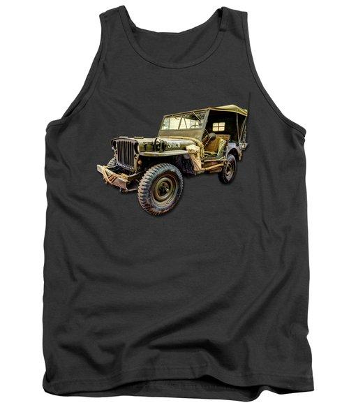 Ww2 Jeep Tank Top