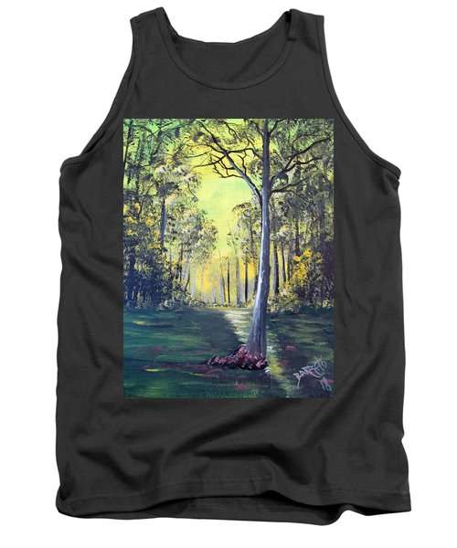Yellow Forrest Tank Top