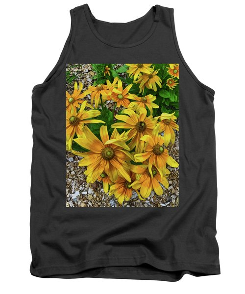 Yellow In Bloom Tank Top