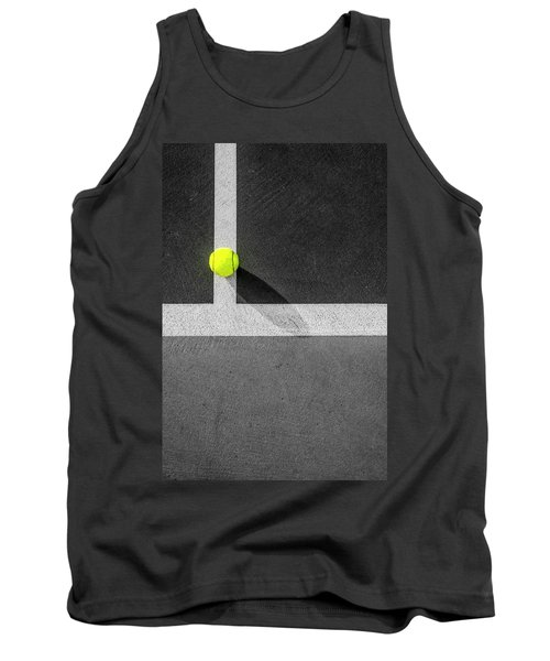Yellow On The Line Tank Top