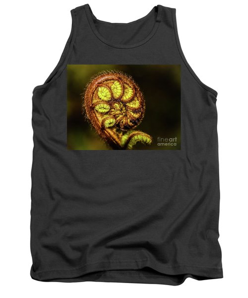 Young Fern Leaves Tank Top