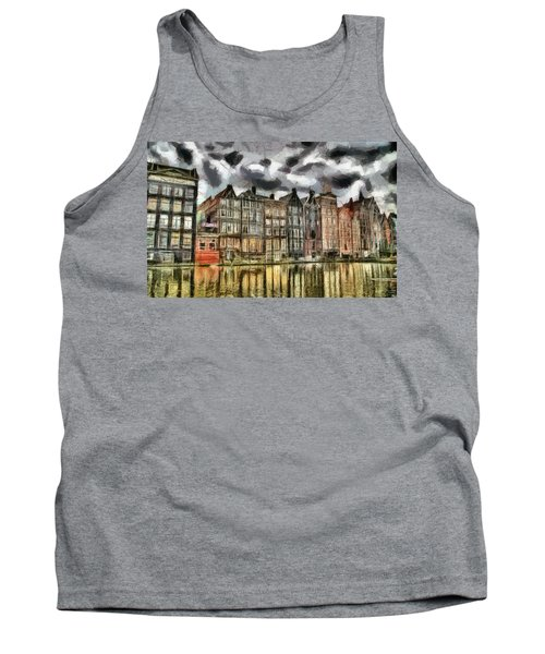 Amsterdam Water Canals Tank Top by Georgi Dimitrov