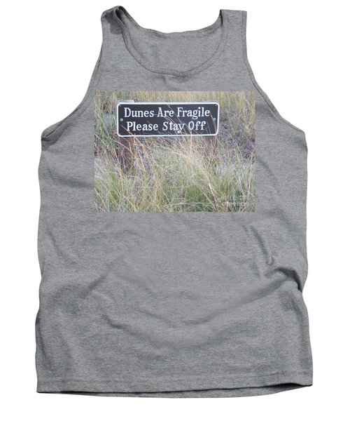 Tank Top featuring the photograph Sand Dune  by Eunice Miller