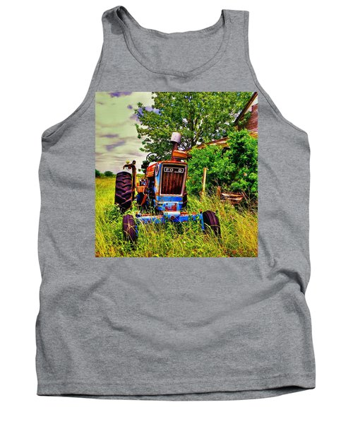 Old Ford Tractor Tank Top