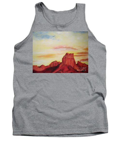 Tank Top featuring the painting  Sedona Az by Eric  Schiabor