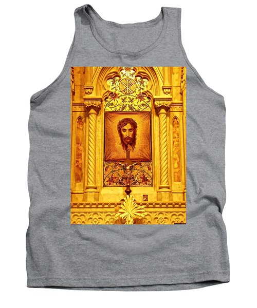 St. Patrick Nyc  Altar Tank Top by Joan Reese