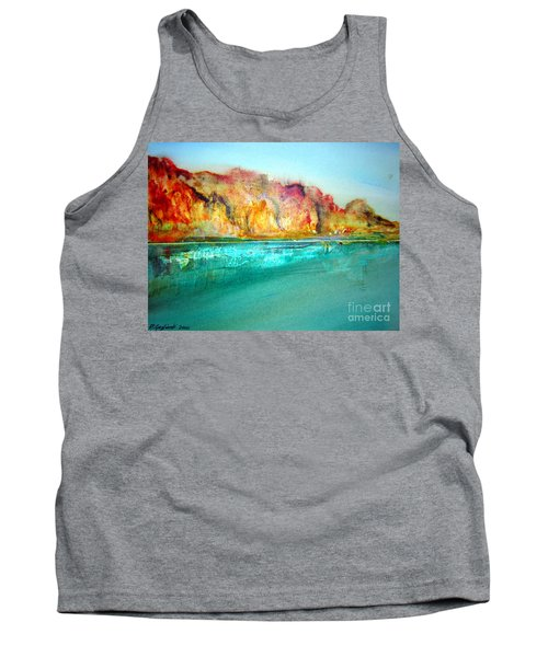 Tank Top featuring the drawing  The Kimberly Australia Nt by Roberto Gagliardi