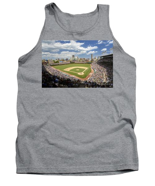 0415 Wrigley Field Chicago Tank Top