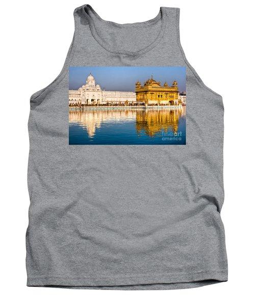 Golden Temple In Amritsar - Punjab - India Tank Top